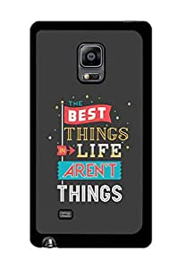 Caseque The Best Things.. Back Shell Case Cover for Samsung Galaxy Note 4 Edge