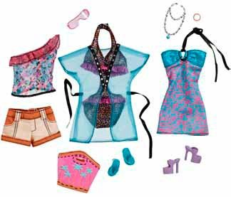 Barbie Fashionistas Day Looks Clothes - Sassy Vacation Fashion Outfit
