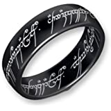 Lord of the Rings Titanium Blackline The one Ring