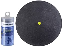 Artengo Dot-X2 Senior Ball (Yellow), 103360