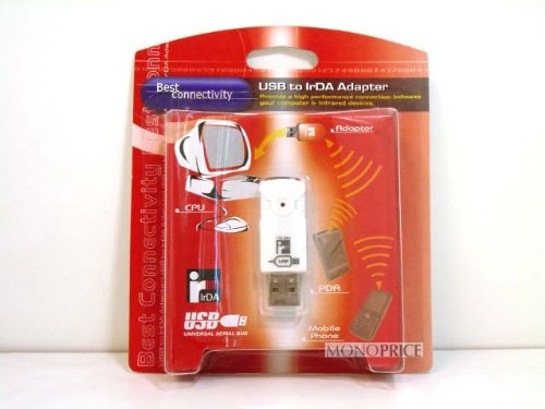 INFRARED, USB Infra-Red Wireless Adapter IrDA - 115kbps Transfer Rate (SIR mode)