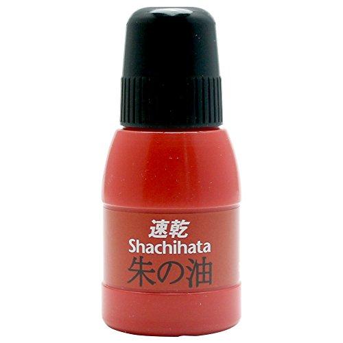 シヤチハタ 速乾 朱の油  OQN-28