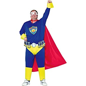 Plus Size Beer Man Costume, The Next Superhero..or Not! (Beer not included)