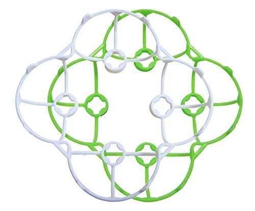 Upgrade Cheerson Cx-10 Propeller Prop Blade Guard Cover Bumper Protection Protector Green White - 1