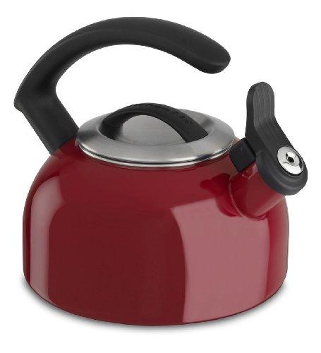 Kitchenaid 1.5-quart Rem Lid Tea Kettle Whistle Kten15aner Empire Red Gift for Your Family