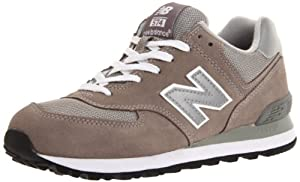 New Balance Men's ML574 Lifestyle Sneaker,Grey/Silver,9 D