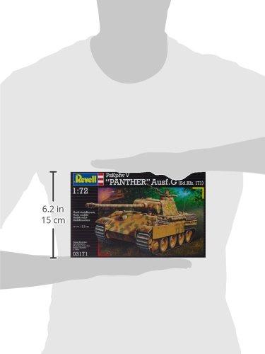 Revell-Modellbausatz-03171-PzKpfw-V-PANTHER-AusfG-SdKfz-171-im-Mastab-172