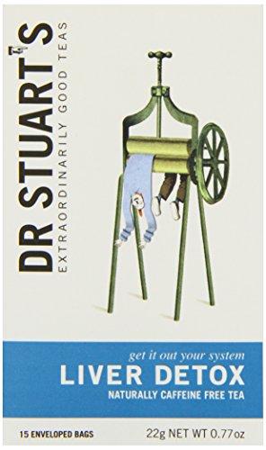 Dr Stuarts Liver Detox 1 Boxes Of 15 Bags