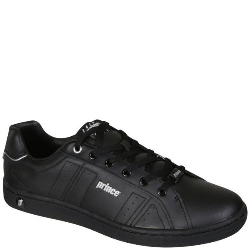 MENS CLASSIC LEATHER LACE-UP TRAINERS
