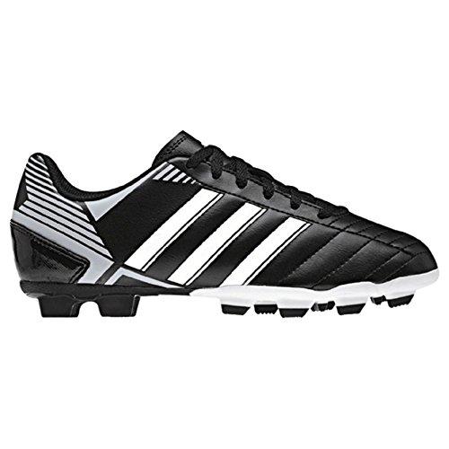 Adidas Junior TRX FG Puntero VIII, Nero (Nero/Bianco), 36 2/3 EU