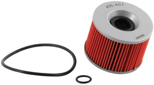 K&N KN-401 Motorcycle/Powersports High Performance Oil Filter image