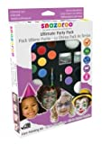 Snazaroo Ultimate Party Pack Face + Body Paint Painting Kit Makes 65+ Faces