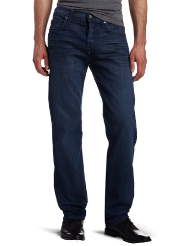 7 For All Mankind Men's Standard Straight Leg Jean In Blue Shade