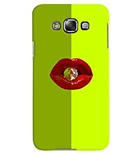 PrintVisa Hot & Sexy Lips Diamond 3D Hard Polycarbonate Designer Back Case Cover for Samsung Galaxy Grand 3