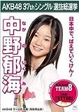 【中野郁海】ラブラドール・レトリバー AKB48 37thシングル選抜総選挙 劇場盤限定ポスター風生写真 AKB48チーム8