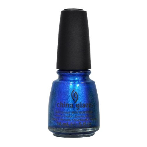 China Glaze Nail Polish Island Escape BLUE IGUANA 80704 Lacquer .5 oz Girly Fun (Girly Nail Polish compare prices)
