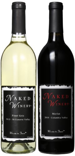 Naked Winery Naked Couple Mixed Pack,(Library Edition) 2 X 750 Ml