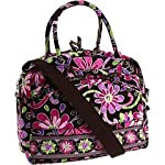 Vera Bradley Metropolitan Laptop Briefcase in Purple Punch