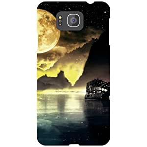 Samsung Galaxy Alpha G850 Back Cover - Scenic Desiner Cases