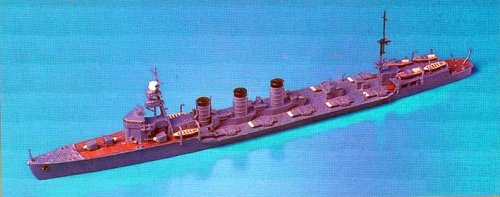 Skywave 1/700 IJN Multiple Torpedo Tubes Mounted Cruiser OHI Model Kit