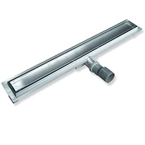 Caniveau Drain douche linéaire 900 mm Type K Siphon durable facile à nettoyer