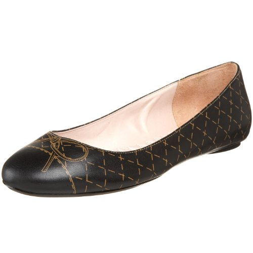 daniblack Women's India Flat,Black,11 M US