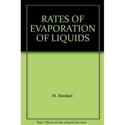 rate of evaporation of liquids If the air is humid some water molecules from the air will pass back into the liquid, thus reducing the rate of evaporation an increase in atmospheric pressure also reduces evaporation the process of evaporation is always accompanied by a cooling effect.