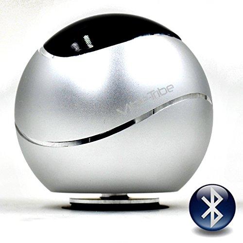 Vibe-Tribe Orbit-Silver: Altoparlante a Vibrazione Bluetooth 15W, Vivavoce