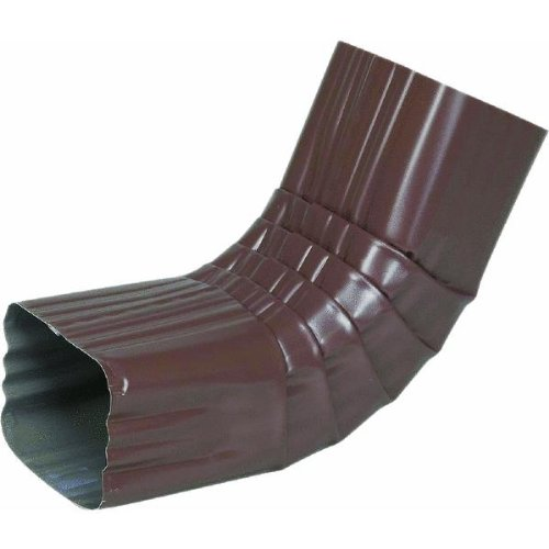 Amerimax Home #4506419 3x4 Brown Aluminum A Elbow