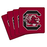 NCAA South Carolina Fighting Gamecocks Neoprene Coasters (Pack of 4) at Amazon.com