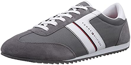 Tommy Hilfiger Branson 5D, Chaussons Sneaker Homme - Gris (Steel Grey 039), 43 EU