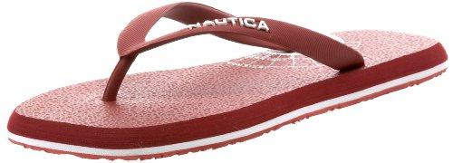 Nautica Men'S Del Rey Sandal, Red, 9.5 M Us front-1065703