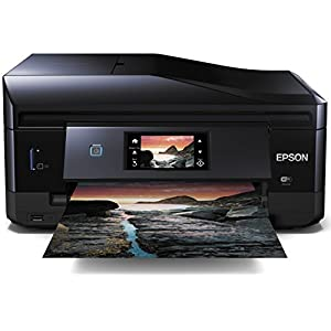 Epson Expression Photo XP-860 All-in-One Photo Printer with Claria Photo HD Ink, Wi-Fi, Touch Panel and ADF (Print/Scan/Copy/Fax)