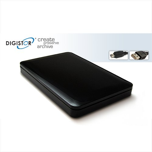 DIGISTOR 500GB Playstation 3 (PS3) Portable USB 2.0 Hard Disk Drive