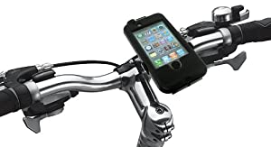 Tigra Sport BikeConsole Weatherproof Case and Bicycle Mount for iPhone 3G/3GS/4/4S