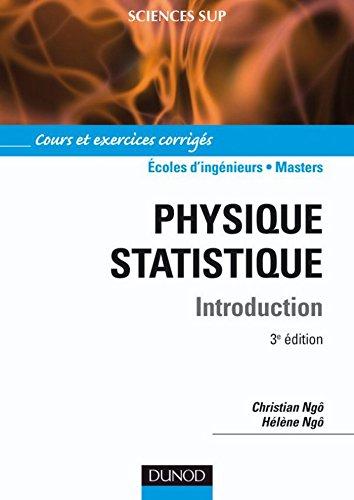 Physique statistique - 3ème édition