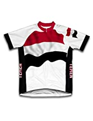 Yemen Flag Short Sleeve Cycling Jersey for Women