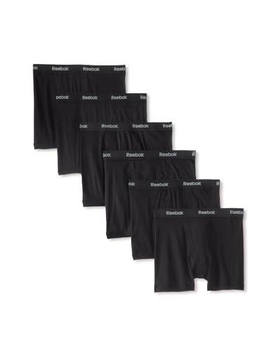 Reebok Men's Boxer Briefs - 6 Pack