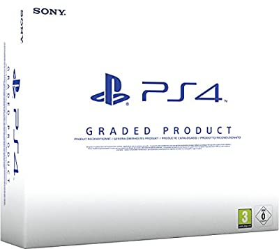 Sony PlayStation 4 500GB - White B Chassis Graded (Certified Refurbished)