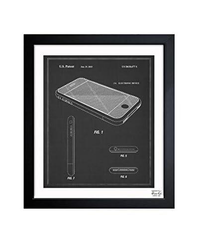 Oliver Gal Apple iPhone, 2010 - Noir Framed Art