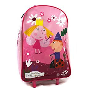 Ben & Holly's Little Kingdom Trolley Bag / Wheeled Bag by Trademark Collections