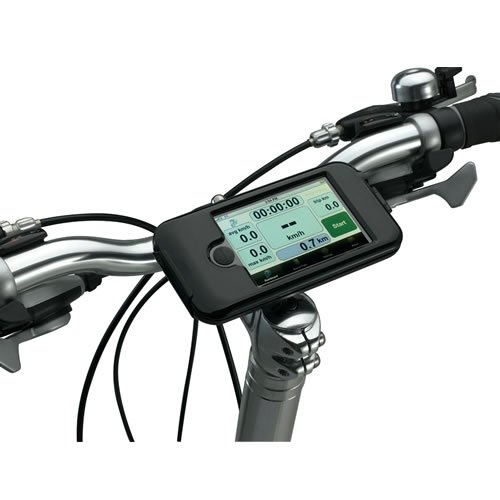 picture Heavy Duty Weather Proof Bike Mount Holder Hard Case for Apple iPhone 4 4G 4S 4GS, 3GS, 3G-Sprint, AT&T and Verizon