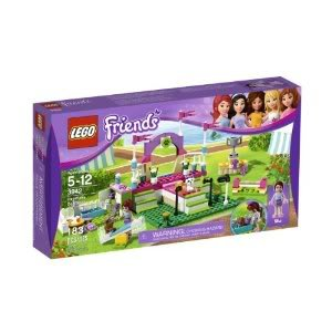 Toy / Game Collectible Lego Friends Heartlake Dog Show 3942 With 2 Obstacles, Trophy W/ Stand & Outdoor Scenery