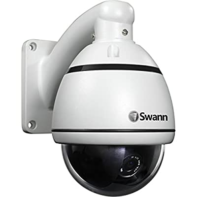 Swann SRPRO-749CAM Super-High Resolution 700TVL with 10x Optical Zoom PTZ Camera, White