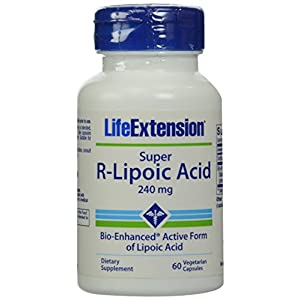 Life Extension Super R-Lipoic Acid, 240mg, 60-Count