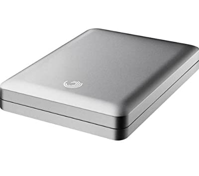 SEAGATE STBA1500100 GoFlex 1.5TB Hard Drive (5400rpm) USB 2.0/FireWire 800 Ultra Portable for Mac (Silver) from SEAGATE