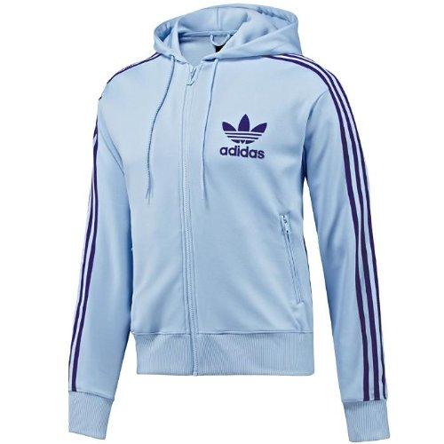 057a5bb38f Adidas Originals Mens Adi Hooded Flock Black Track Top Hoody Size S ...