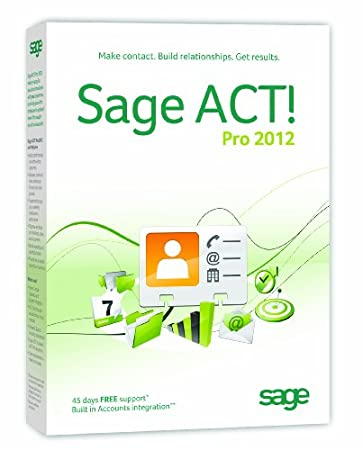 Sage ACT! Pro 2012 1 user (PC)