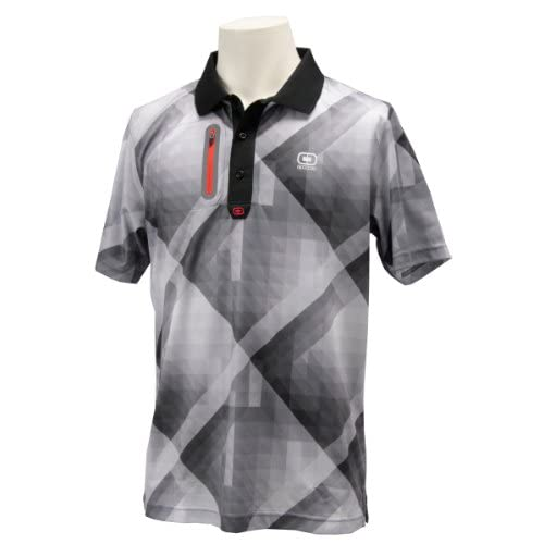 (オジオ)OGIO メンズ 半袖ポロシャツ 764606 BK ブラック M