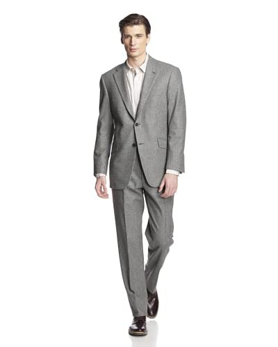 Hickey Freeman Men's Houndstooth Suit